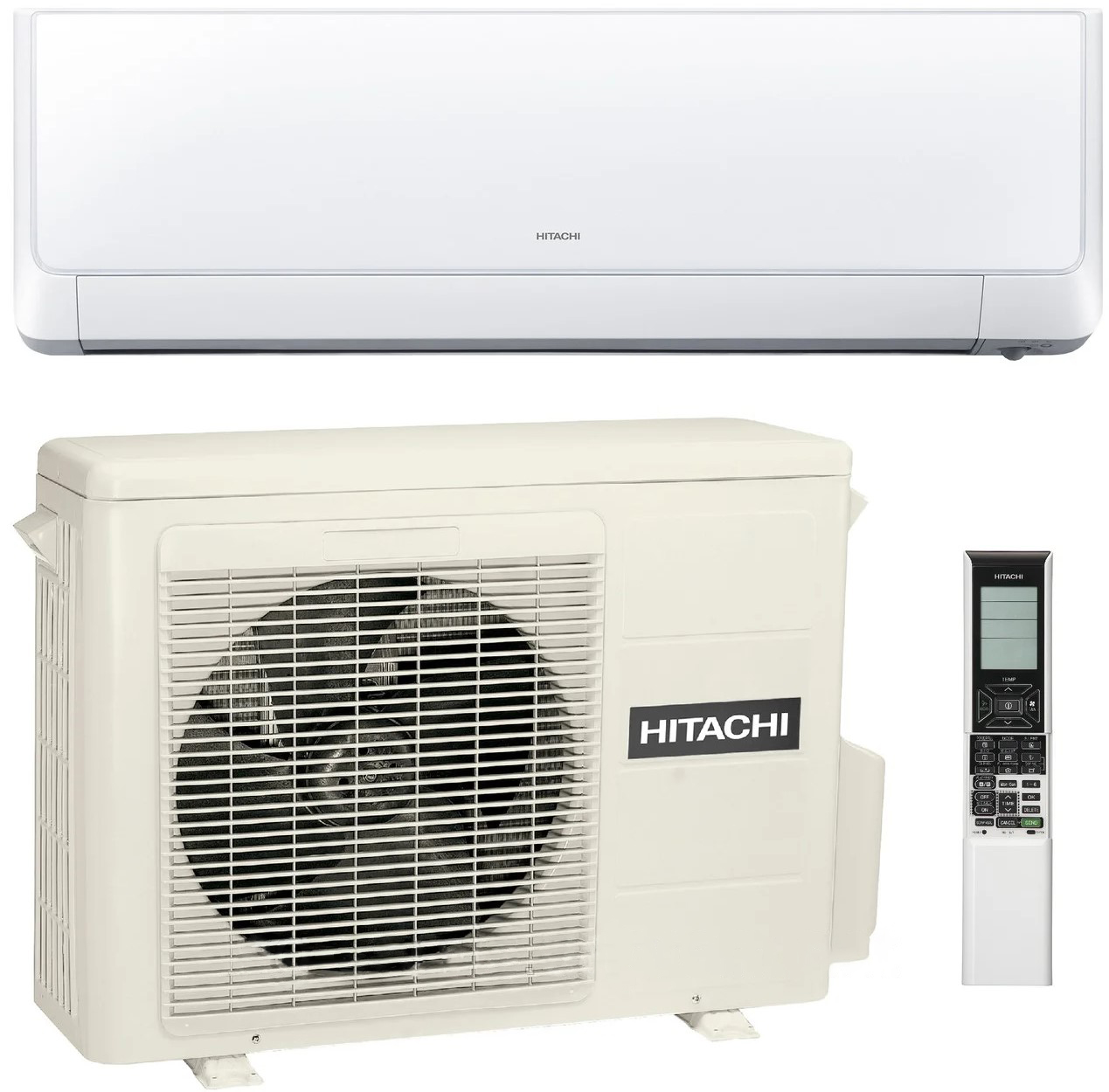 Настінний кондиціонер HITACHI HI END RAK-50RXD / RAC-50WXD (фреон R32, INVERTER)