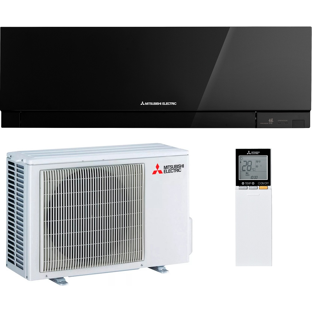 Настенный кондиционер MITSUBISHI ELECTRIC Design MSZ-EF35VE3B/MUZ-EF35VE (Inverter, Black)