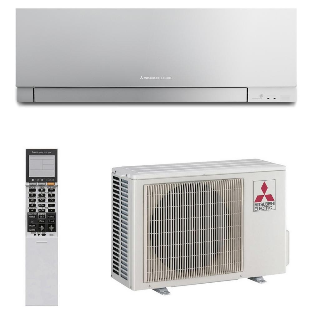 Настенный кондиционер MITSUBISHI ELECTRIC Design MSZ-EF25VE3S/MUZ-EF25VE (Inverter, Silver)